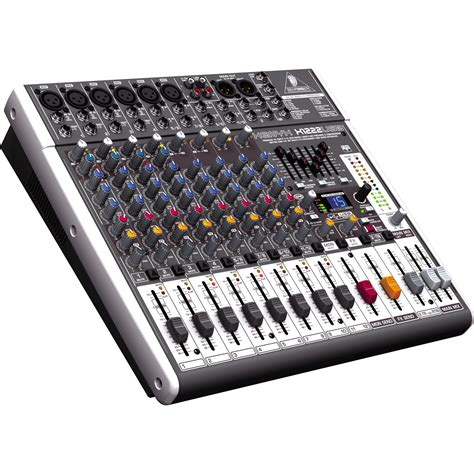 table de mixage usb behringer behringer xenyx x1222usb usb mixer with effects musician s friend
