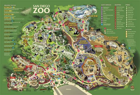 map of los angeles zoo los angeles zoo map 2014 gallery