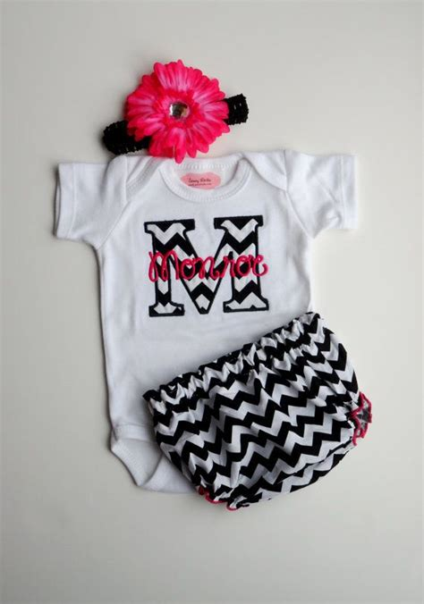 personalized baby girl clothes newborn gril take home