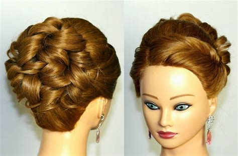 updo hairstyles youtube curly updo prom hairstyles women