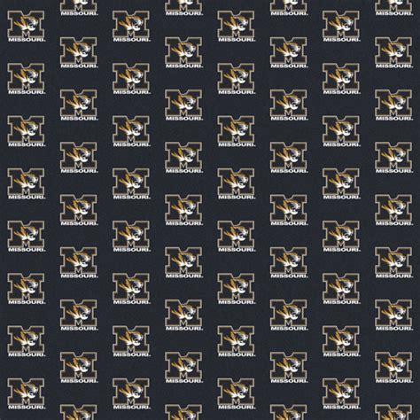 mizzou rug missouri tigers repeat logo area rug