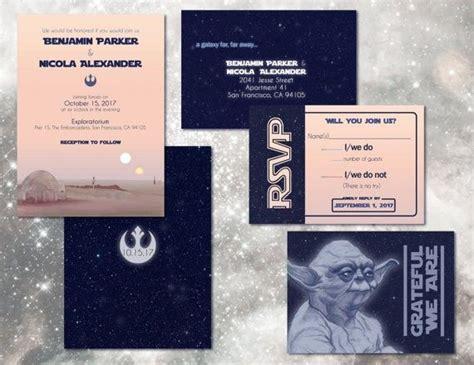 Wars Wedding Invitations For Sale