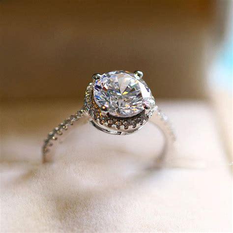 princess cut engagement rings for solitario 1 2