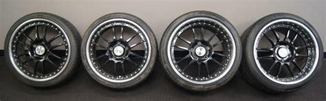oz racing superleggera iii staggered wheels tires black polished lip