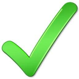 imagenes signo ok signo aceptar tick vista icon icono gratis descarga gratuita