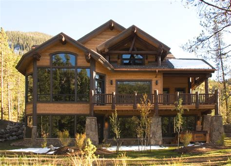 Mountain Home Exteriors | mountain home exteriors traditional exterior other metro by bhh partners planners