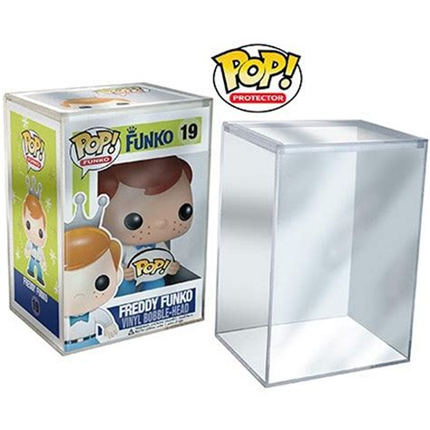 funko pop stack protector set of 6 clear