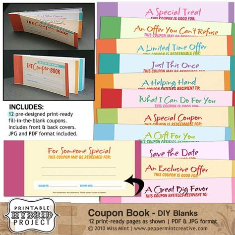 making a coupon book templatesmberproco making a coupon book