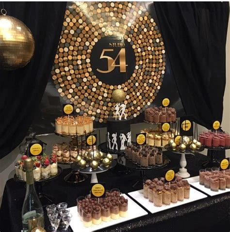 party decor ideas on pinterest dessert tables waffle studio 54 themed dessert table styling by