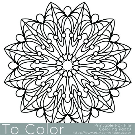 easy coloring pages to print for adults simple printable coloring pages for adults gel pens