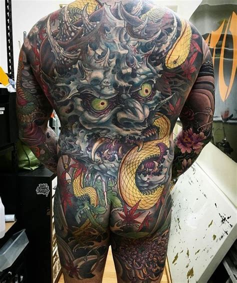 japanese oni tattoo 449 best hannya oni images on
