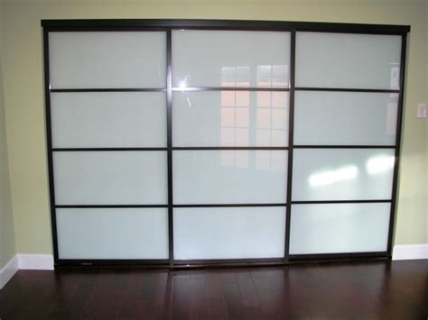 Sliding Frosted Glass Closet Doors Sliding Doors Frosted Glass