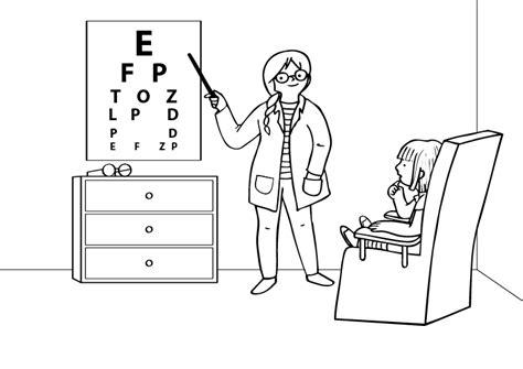 color de los ojos dibujos para colorear imagixs oculista dibujo para colorear e imprimir