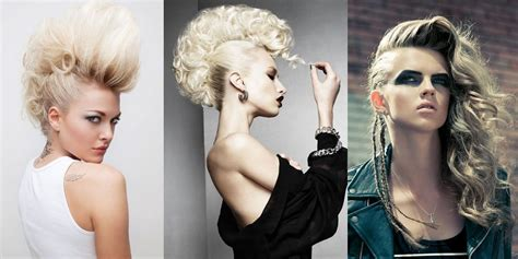 Rock Hairstyles For Hair by 3 Rock Hairstyles Tutorial