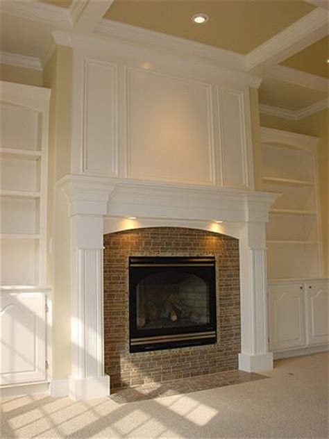 Fireplace Trim Ideas by Built In Fireplace And Builtins