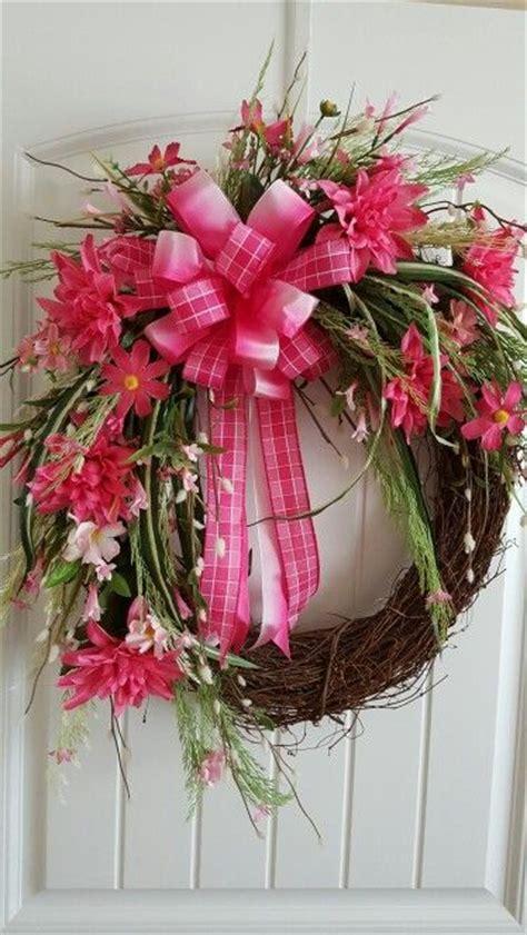 spring wreaths to make 25 unique pink wreath ideas on pinterest tutu wreath