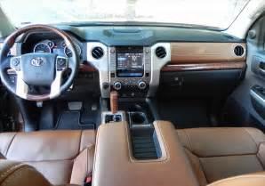 Toyota 1794 Interior by 2014 Toyota Tundra 1794 Interior Car Interior Design