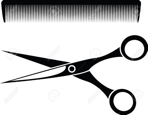 haircut scissors clipart pink hair clipart haircut scissors pencil and in color