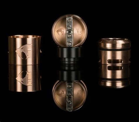 Authentic Rda 24 Goon 1 5 V1 5 By Customvapes 528 Bukan Druga Skill 528 customs goon v1 5 rda gold innovapes llc