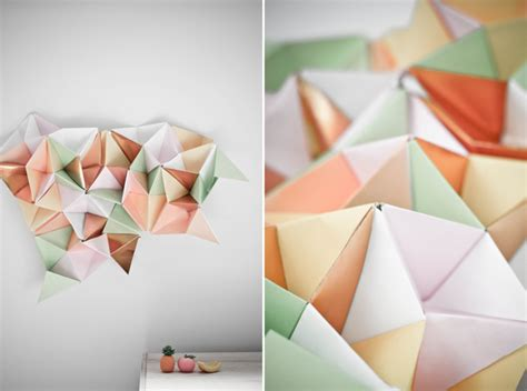 How To Make 3d Triangle With Paper - paper triangle web make