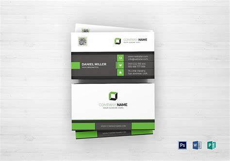 Office Business Card Template 2010 by 55 Beautiful Business Card Designs Noupe