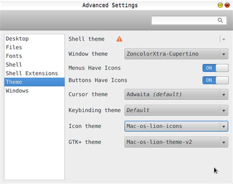 kali linux cursor themes cara install mac os x lion theme kali linux belajar didieu