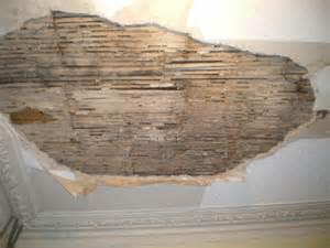 repair of lath and plaster ceiling restoration