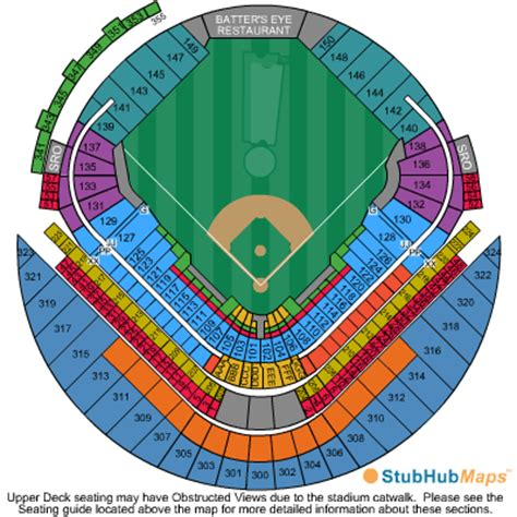 tropicana field seating chart with rows and seat numbers tropicana field seating chart pictures directions and