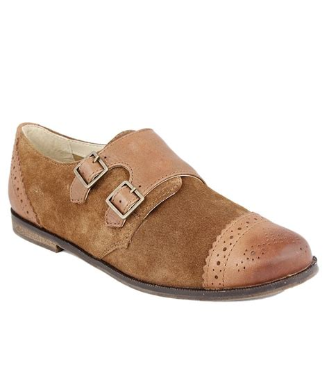 kainalli s casual brown color shoes price in india