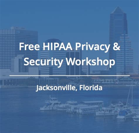 join us for a free hipaa workshop in jacksonville
