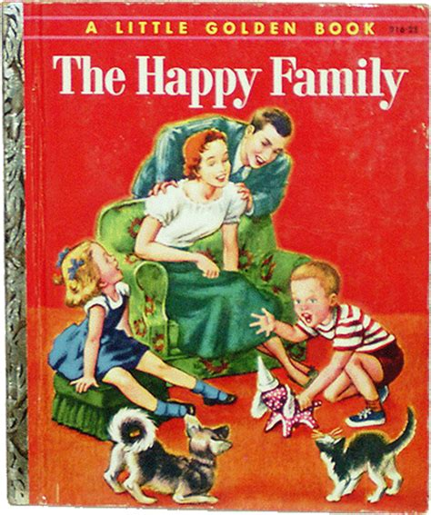 the family cookbook books golden books the happy family book no 216