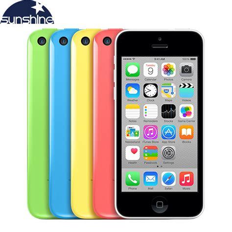 aliexpress mobile original unlocked apple iphone 5c mobile phone 4 quot retina