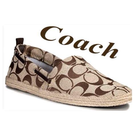 coach flat shoes on sale 49 coach shoes coach espadrille flats sale from