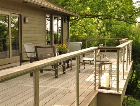 balkon holzgeländer außen metalltreppe au 223 en design