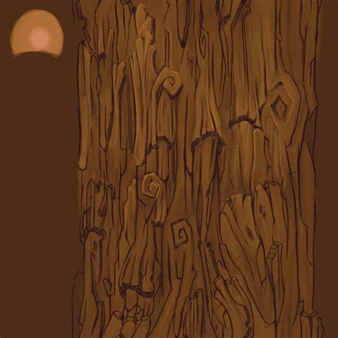 how to paint tree bark texture udk painted haunted pumpkin yard polycount