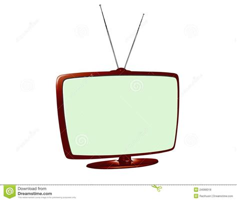 Antena Lcd Lcd Tv With Antenna Royalty Free Stock Photos Image