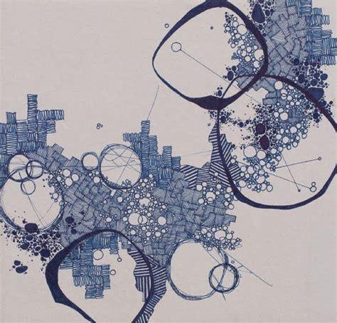 ink mapping quot asvirus 37 quot by derek lerner original pen and ink