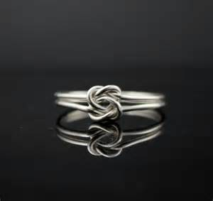 Infinity Knot Meaning Ring Infinity Ring Sterling By Indulgentdesigns