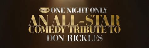 spike honors legendary comedy icon don rickles one night object moved