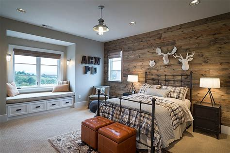 wood wall bedroom 25 awesome bedrooms with reclaimed wood walls