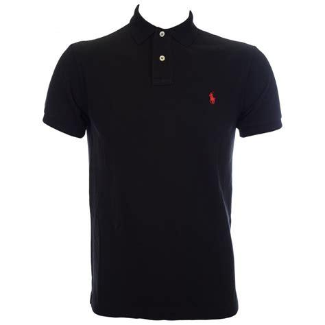 Polo Shirt Black polo ralph slim fit black polo shirt polo ralph