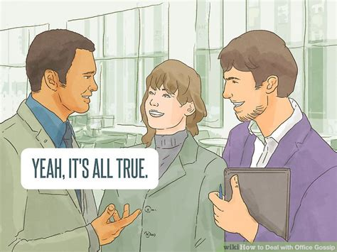 3 ways to deal with office gossip wikihow