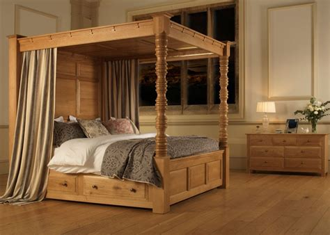 Four Poster Bed by Four Poster Bed Balmoral From Revival Beds