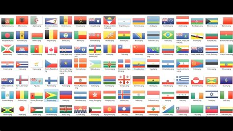 flags of the world pictures with names flags of all countries of the world with names and nice