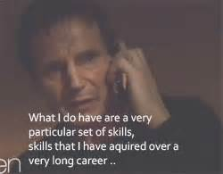 Hubert Silly Mba by Liam Neeson On The Phone