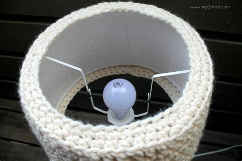 L Shade Makeover by Craftaholics Anonymous 174 Crochet L Shade Pattern