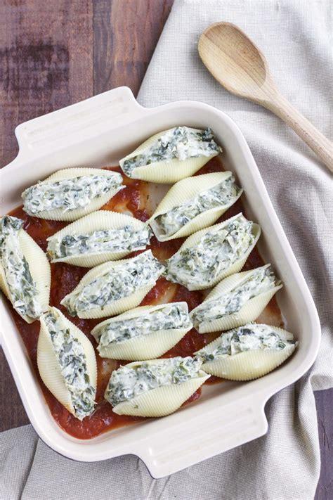 dairy  spinach artichoke dip stuffed shells