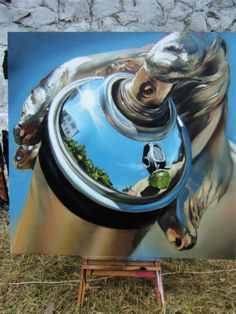 fine graffiti art scene