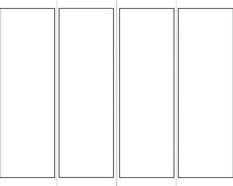 bookmark templates bookmark template 1 for free tidyform
