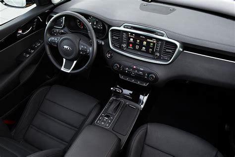 kia sorento 2017 leather seats 2017 kia sorento interior carman 205 a